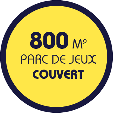 800m2 de surface couverte